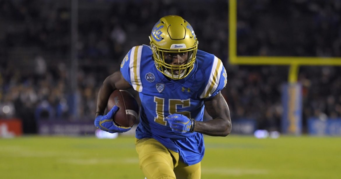UCLA wide receiver Jaylen Erwin enters transfer portal