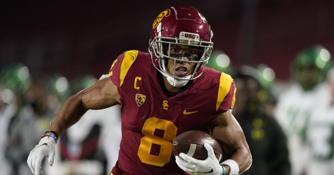 USC wide receiver Amon-ra St. Brown declares for the NFL draft