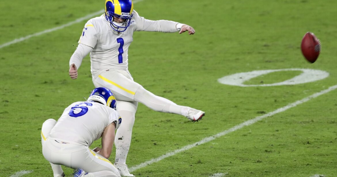 Matt Gay has brought joy (and points) to the Rams' kicking game