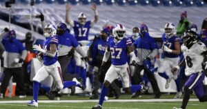NFL playoffs: Bills defeat Ravens, advance to AFC championship game