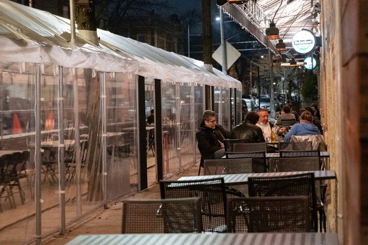 The cold reality of outdoor dining and takeout during a COVID-19 winter