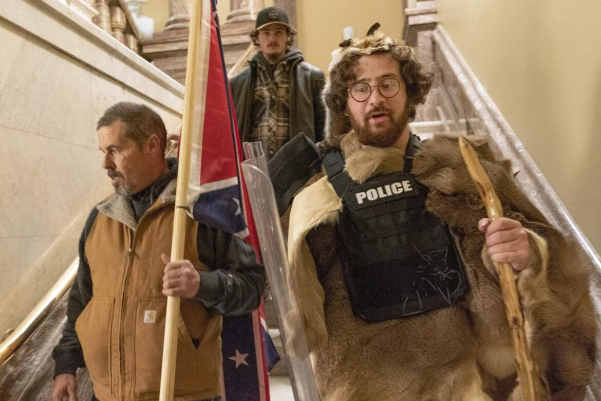 From Baked Alaska to a guy with horns: notable riot arrests
