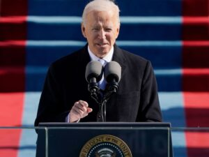President Joe Biden, optimist to the core, calls for an end to 'this uncivil war'