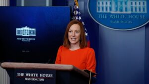 Psaki: Biden not taking a position on whether Senate should convict Trump