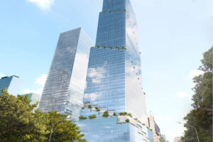 Tishman Speyer tower at Hudson Yards is Spiral-ing up