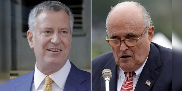 Rudy Giuliani more popular in NYC than Bill de Blasio, poll shows
