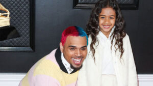 Chris Brown Hugs His Baby Girl Royalty, 6, Warmly As They Hang With Her Friend: See Pic