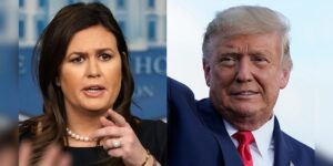 Trump endorses Sarah Huckabee Sanders for Arkansas governor