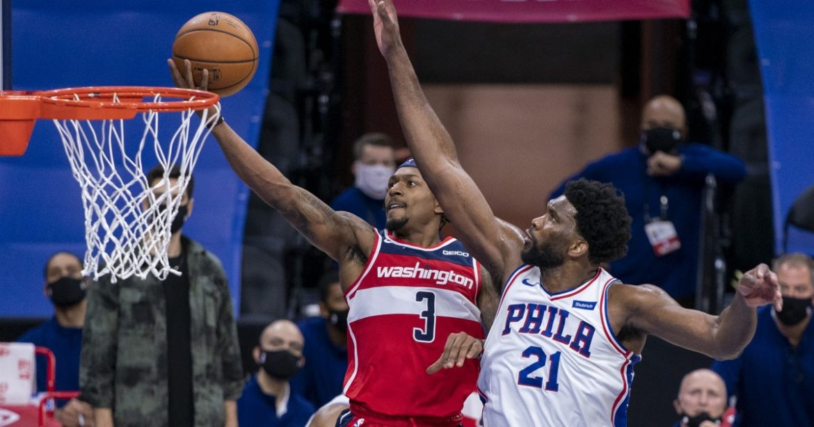 NBA: Bradley Beal scores 60 but Joel Embiid leads 76ers over Wizards