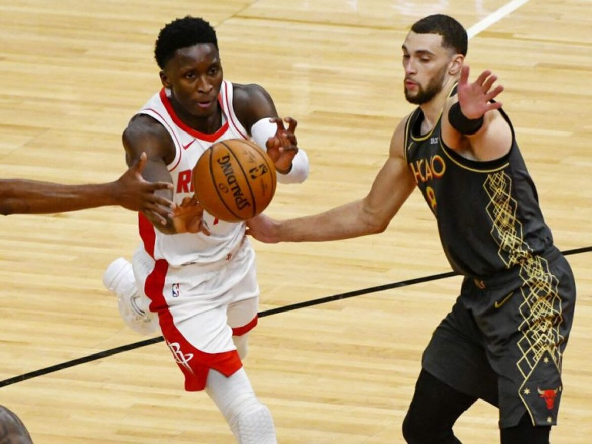 Playing the game the right way, Zach LaVine and the Bulls beat the Rockets