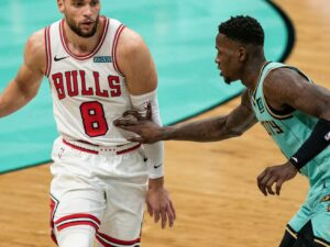 Zach LaVine dishes out some trust, as the Bulls win three straight