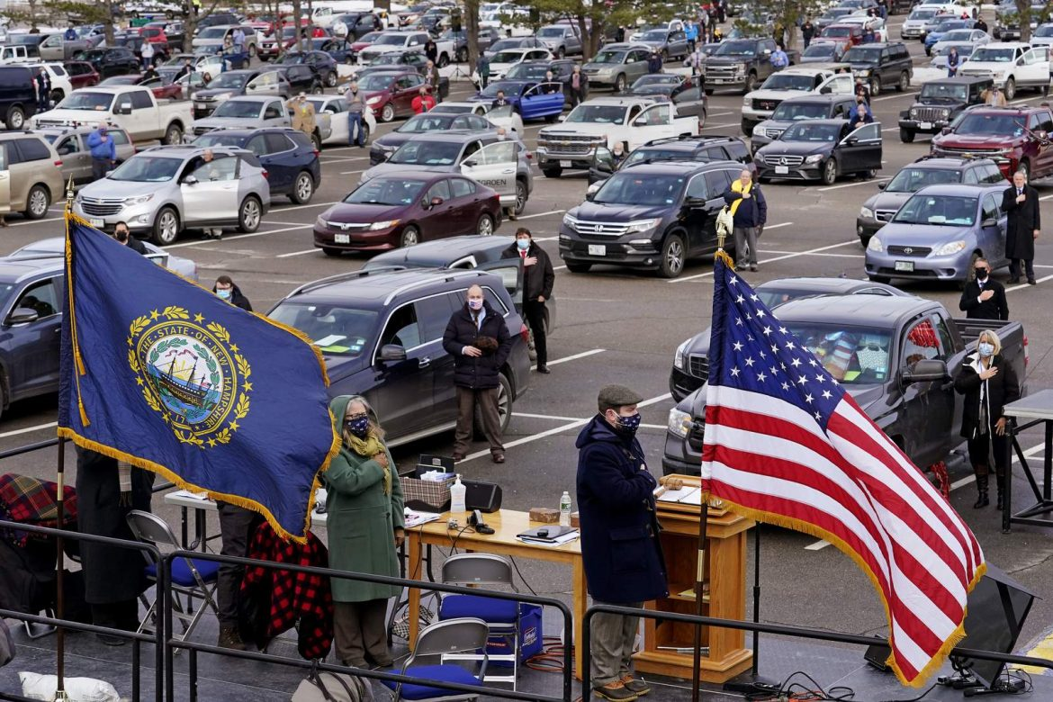 American idle: New Hampshire House holds drive-in session