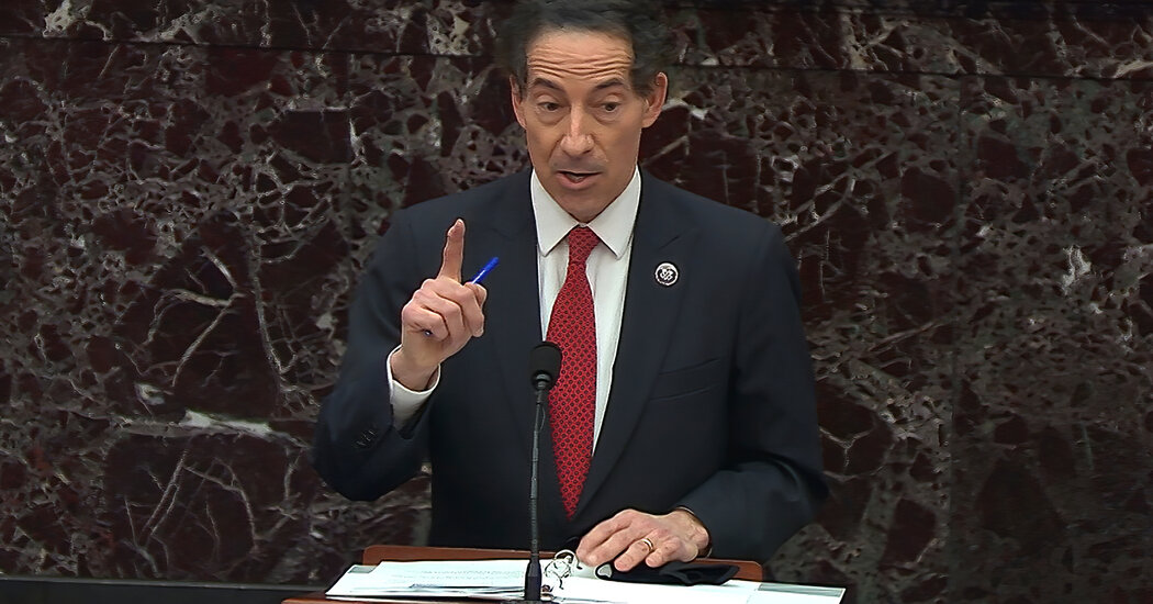 Impeachment Trial: Raskin Makes Emotional Argument About Family Being at Capitol Riot