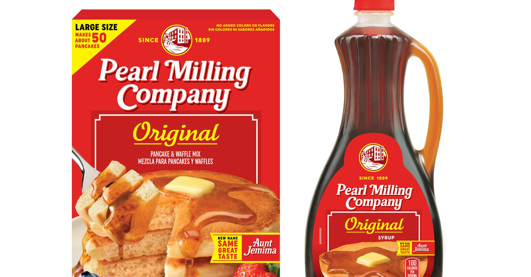 Aunt Jemima Has a New Name After 131 Years: The Pearl Milling Company