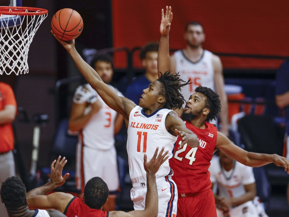 This You Gotta See: Illini put the pedal down in pursuit of possible No. 1 seed