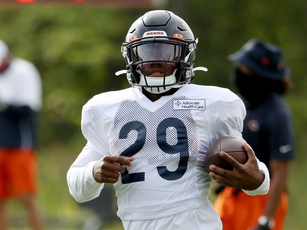 Bears RB Tarik Cohen Tweets that he's not going anywhere
