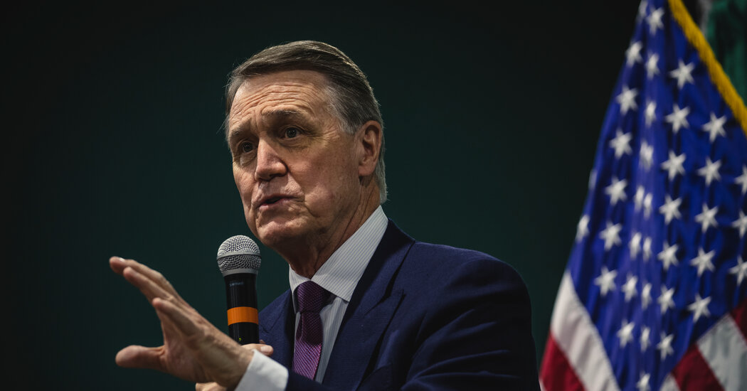 David Perdue Files to Run Against Raphael Warnock for Georgia Senate Seat