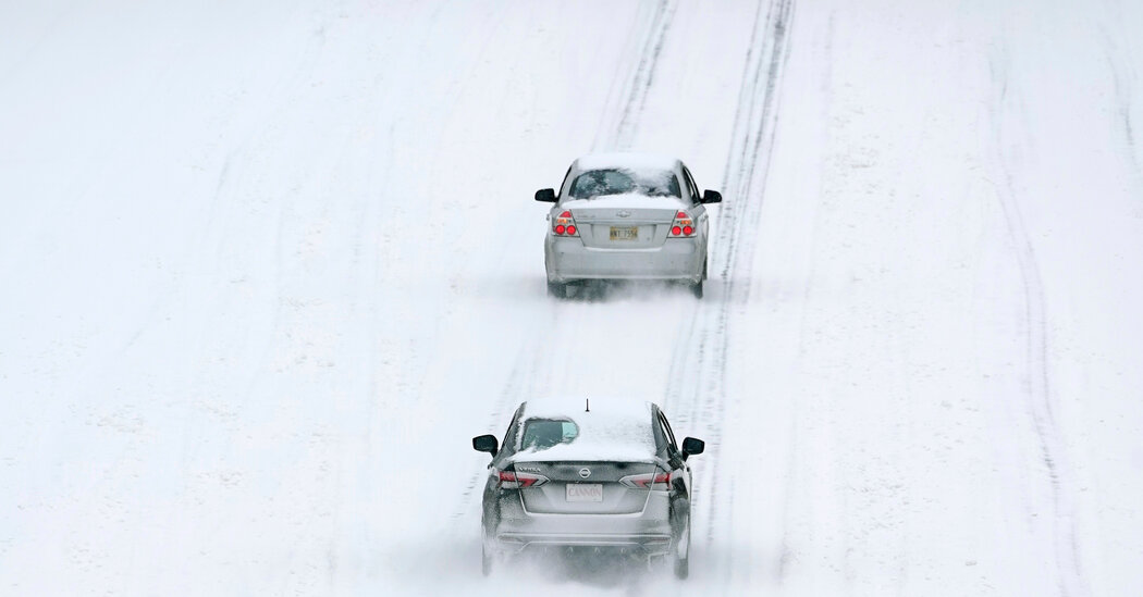 Winter Conditions Paralyzed Air, Road Travel Across Much of South