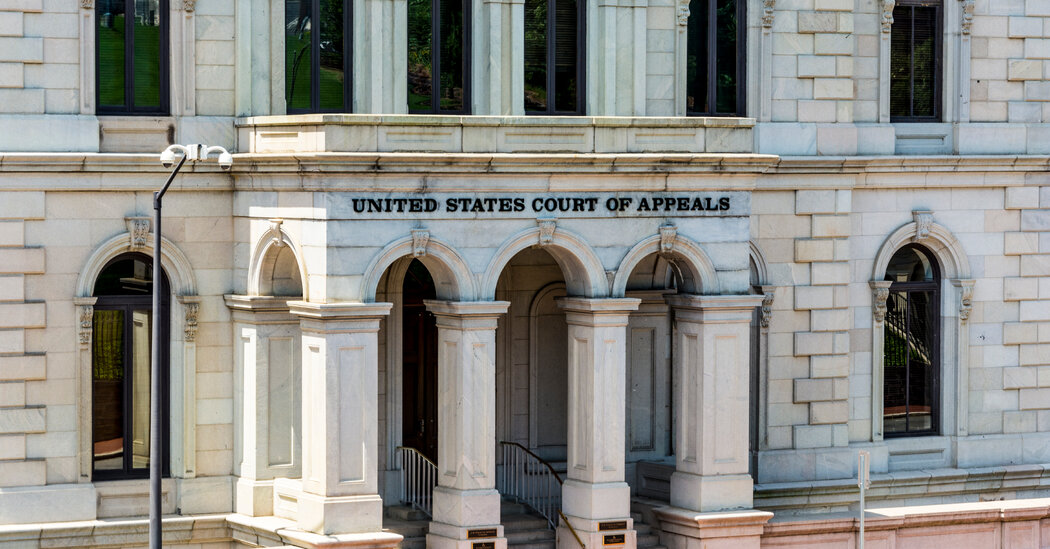 On Federal Appeals Courts, a Spike in Partisanship