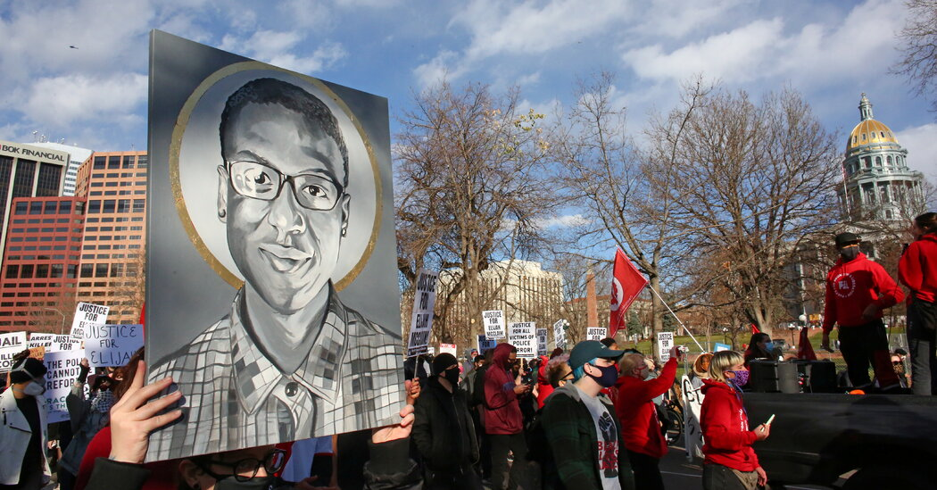 Independent Report Is Highly Critical of Colorado Police in Death of Elijah McClain