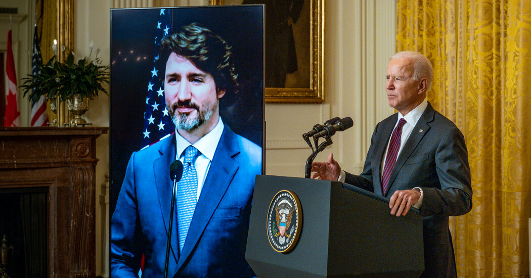 Biden and Trudeau Renew the Ties Put to the Test by Trump