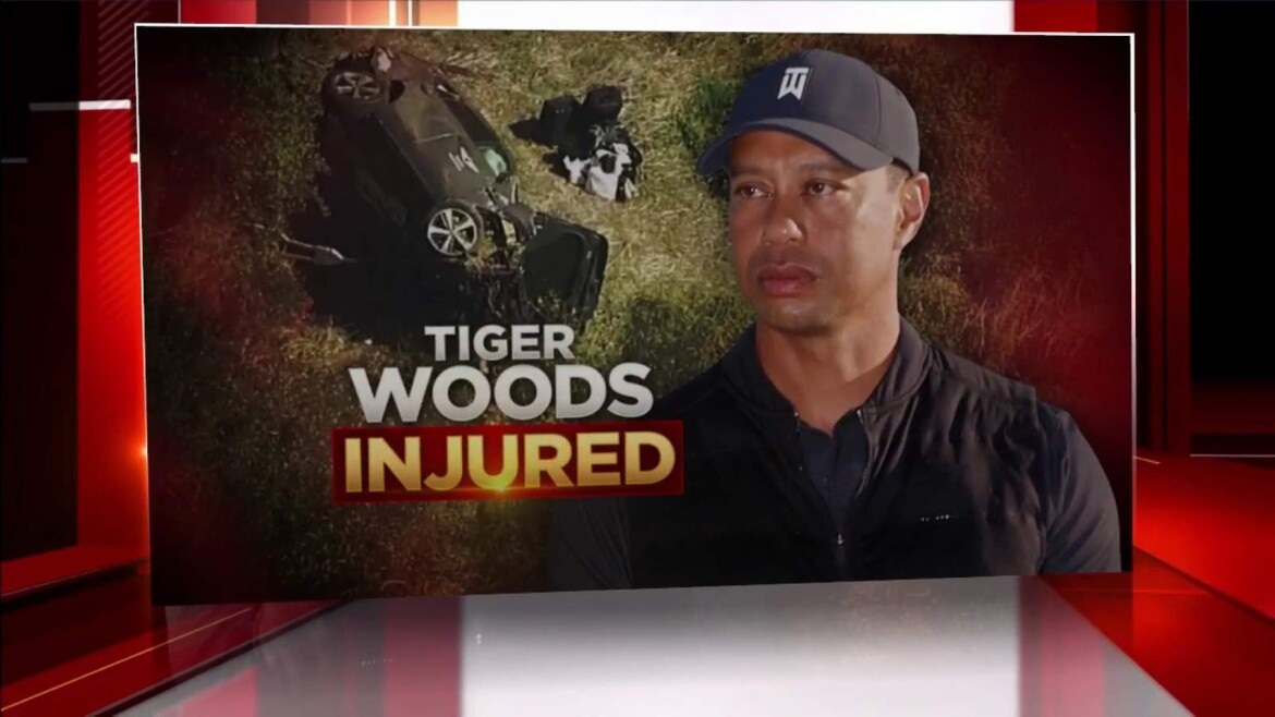 LA sheriff calls Tiger Woods crash 'purely an accident'
