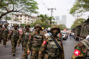 Myanmar military banned from Facebook, Instagram after coup
