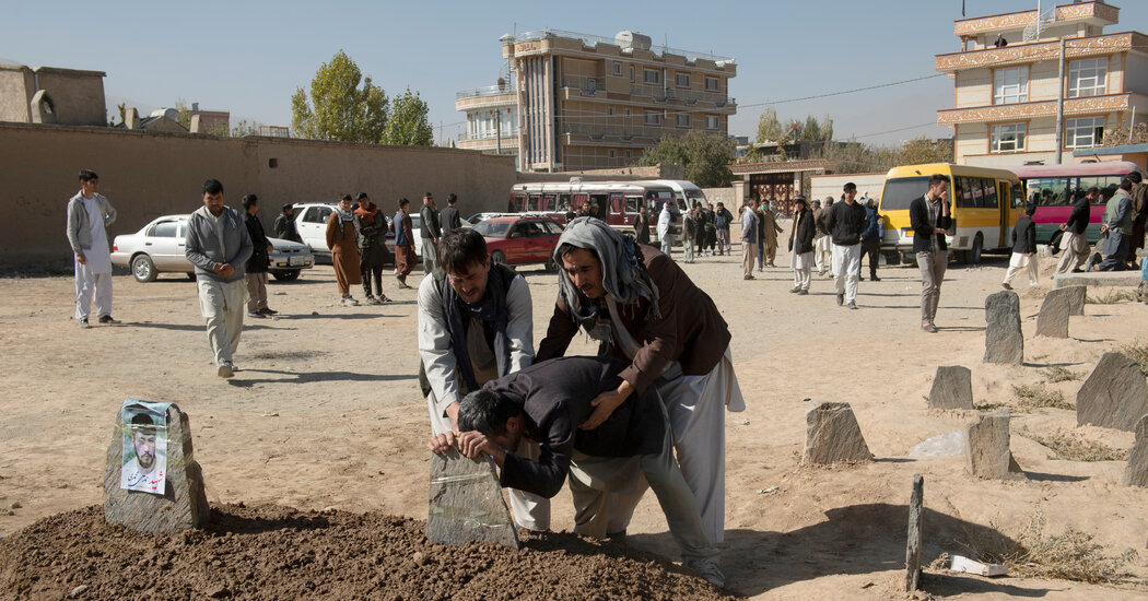 Afghan Civilian Casualties Soared After Peace Talks' Start