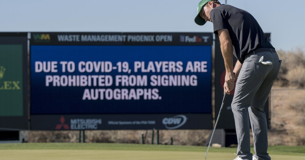 The Pandemic Has Diminished Part of Athletes' Jobs: Signing Autographs