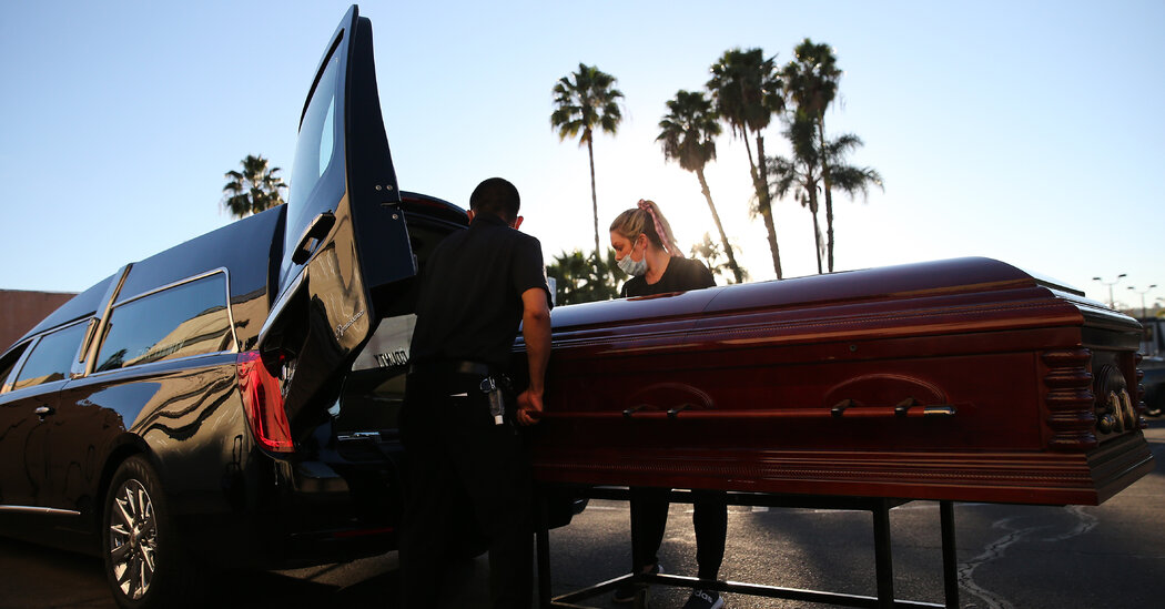 California has passed the 50,000-death mark, the most of any state.