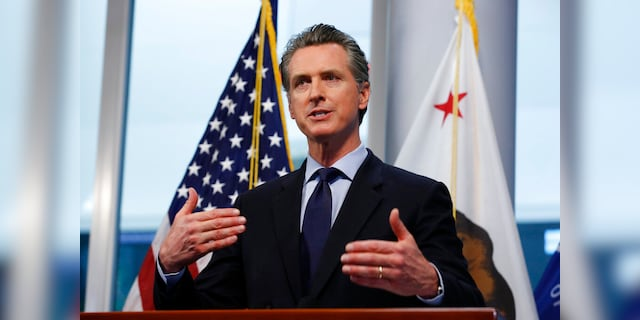 Newsom holds first in-person press conference since March as recall nears threshold
