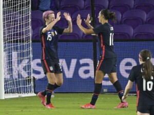Megan Rapinoe leads U.S. over Argentina to win SheBelieves Cup