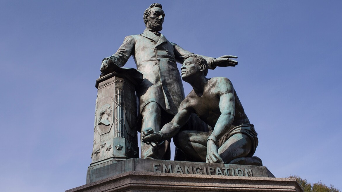 DC Congresswoman introduces bill to remove 'Emancipation Memorial' featuring Lincoln