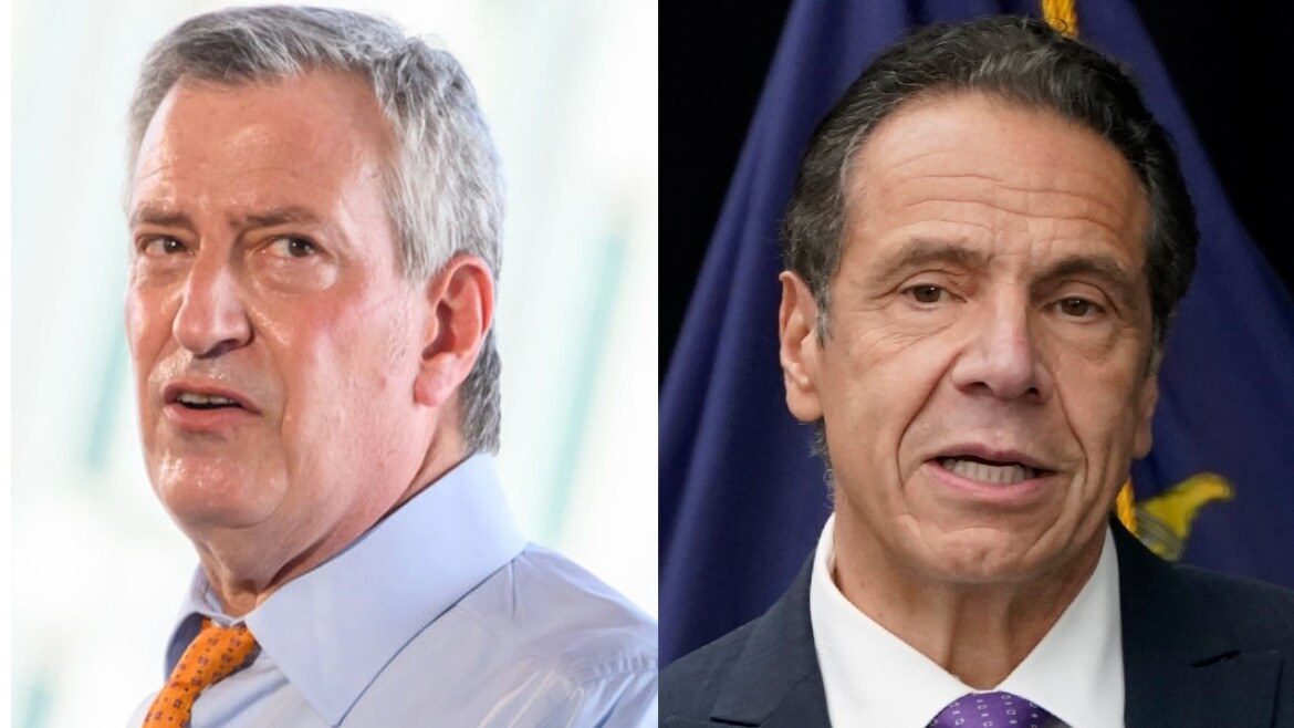 Mayor de Blasio joins calls for Gov. Cuomo to lose emergency powers: report