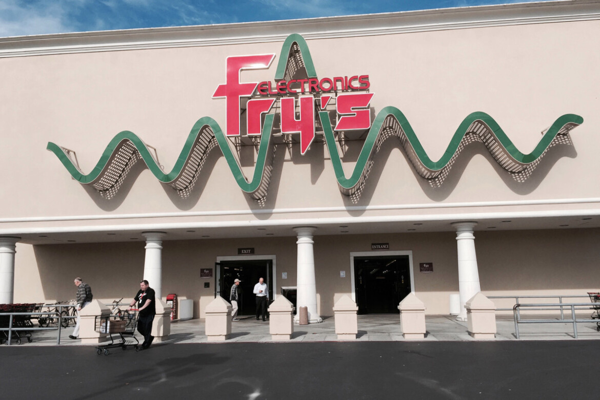 Fry's Electronics abruptly goes out of business