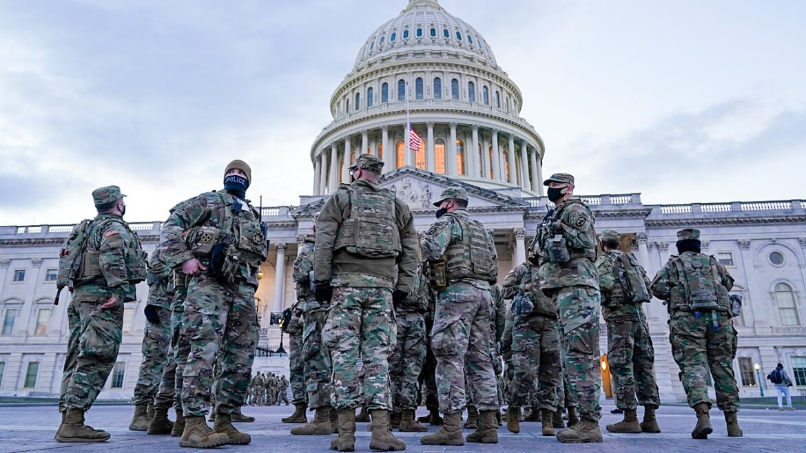 National Guard will end its mission in the nation's capital by mid-March