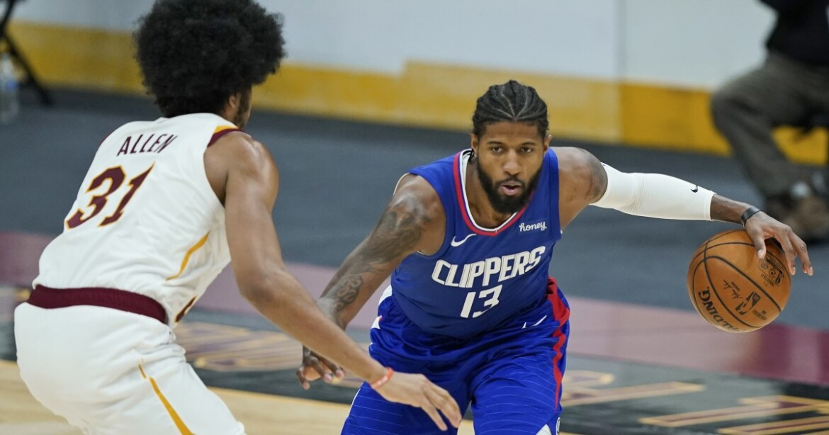 Paul George scores 36 points, Clippers hot behind arc in Lue's return to Cleveland
