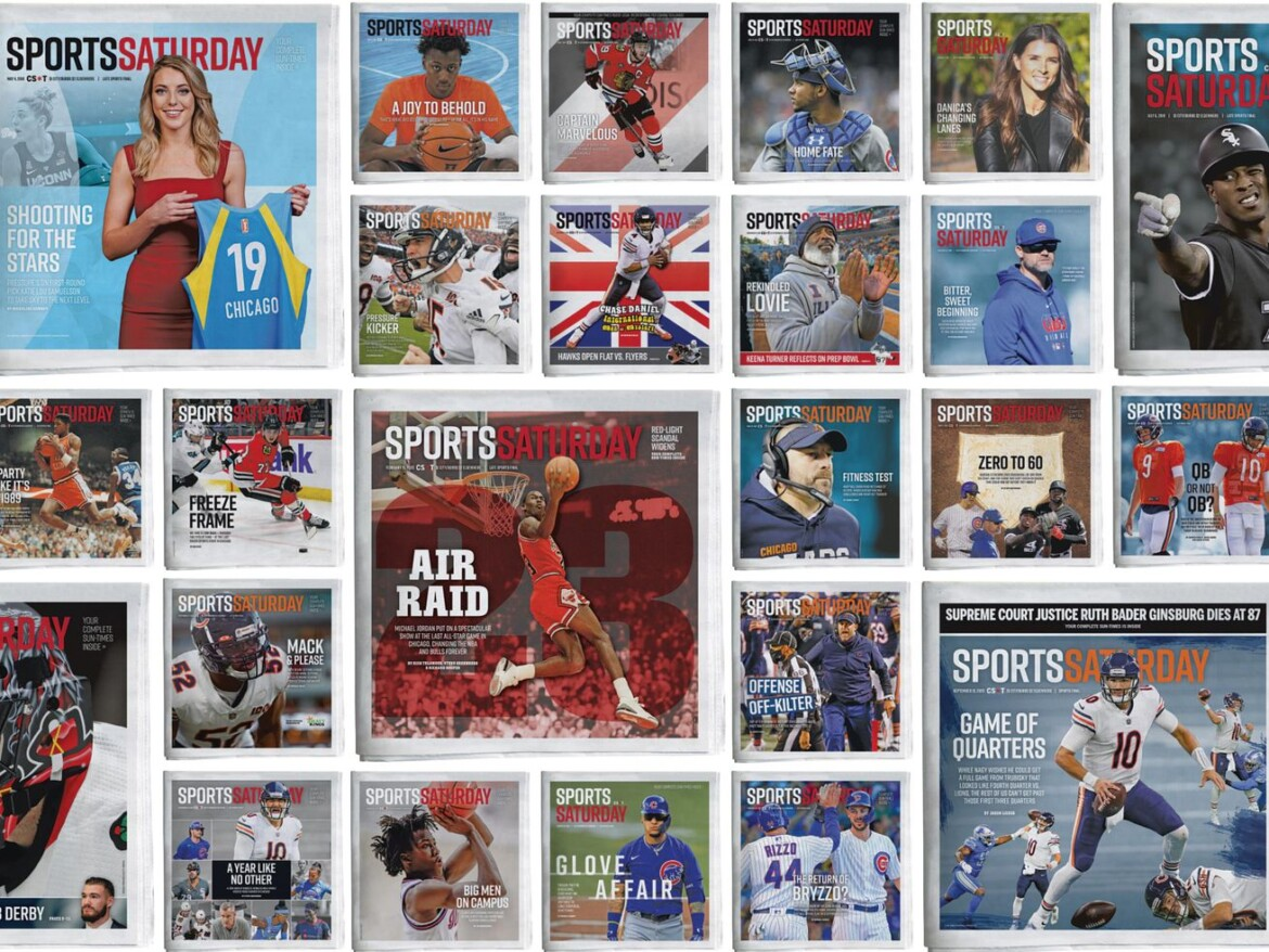 A cool 100: With its reimagining of sports on Saturdays, Sun-Times has had readers well-covered