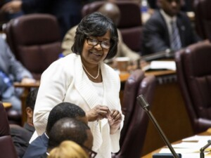 Eight almost enough?Endorsements make Ald. Harris clear frontrunner in race to lead state Democratic Party