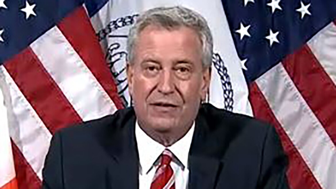 De Blasio reacts to ex-staffer accusing him of 'penis politics': Administration is 'majority women'