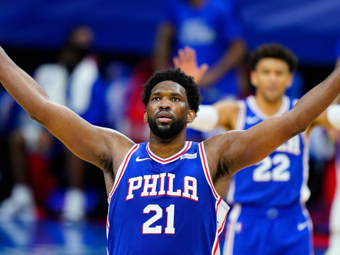 Sixer Joel Embiid drops 50, but Bulls still in position to steal one
