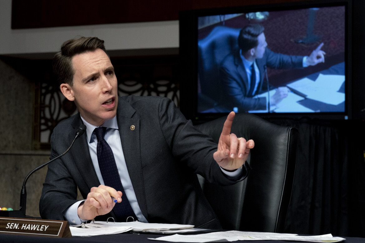 Josh Hawley Has Some Thoughts About 'Complicity' in the Insurrection He Helped Incite