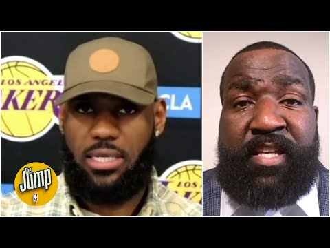 Reacting to LeBron's 'adjust' comments after another Lakers loss | The Jump