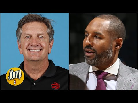 Why did the Timberwolves hire Raptors assistant Chris Finch over David Vanterpool? | The Jump
