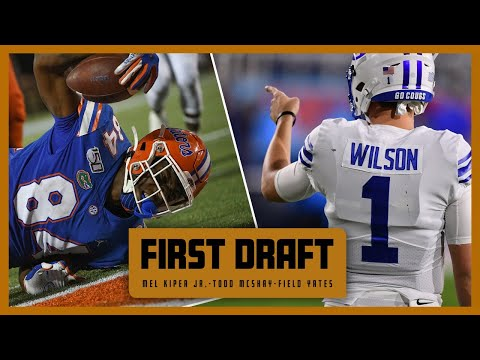 Mac Jones moves up the big board plus the highest TE placement in Mel's career! | First Draft