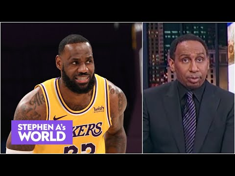 'He didn't need rest then!' – Stephen A. says LeBron has struggled before | Stephen A's World