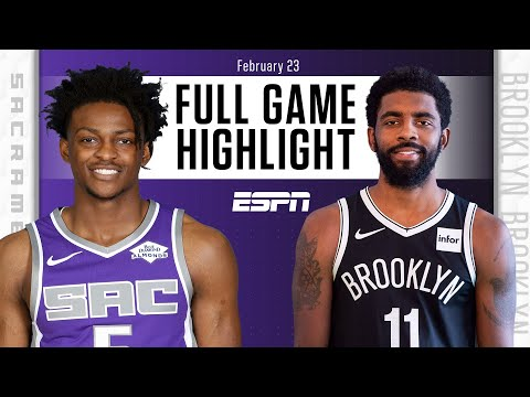Sacramento Kings vs. Brooklyn Nets [FULL GAME HIGHLIGHTS] | NBA on ESPN