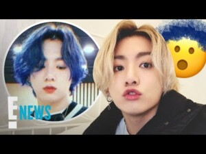 BTS Singer Jungkook Dyes His Hair Blue & Fans Are Freaking | E! News