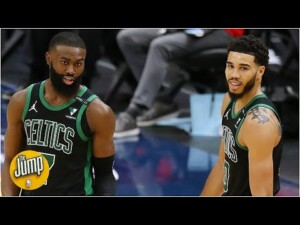 Reacting to Jaylen Brown's candid comments on his All-Star selection | The Jump