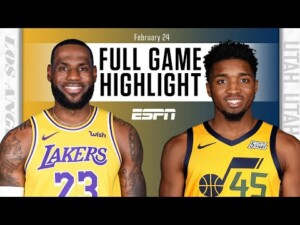 Los Angeles Lakers vs. Utah Jazz [FULL GAME HIGHLIGHTS] | NBA on ESPN